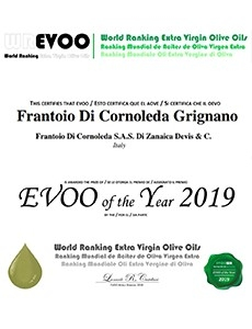 WORLD RANKING EXTRA VIRGIN OLIVE OIL : GRIGNANO