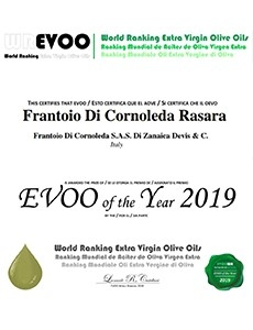 WORLD RANKING EXTRA VIRGIN OLIVE OIL : RASARA